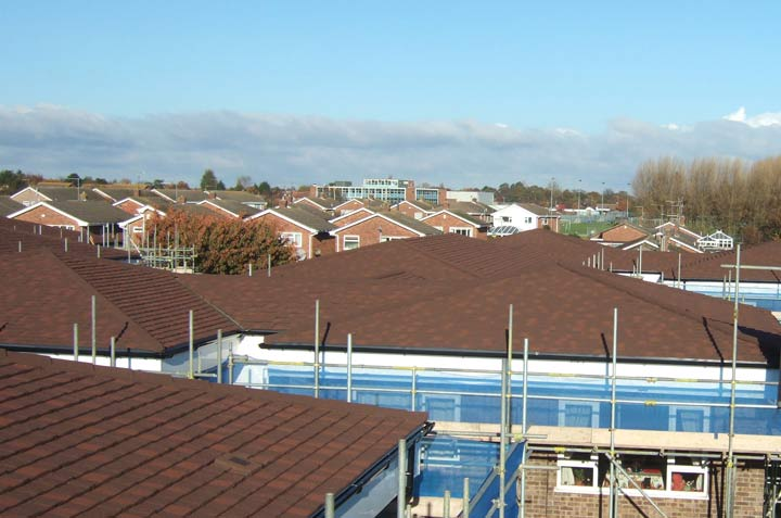 Hanover Gardens roofing project