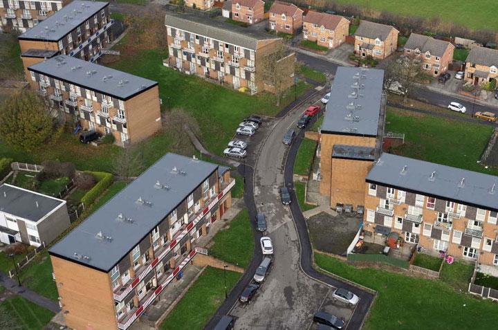 MAC Roofing Sheffield City Housing