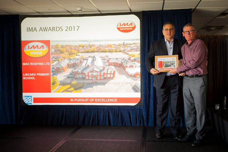 Decra IMA Awards Win MAC Roofing